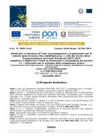 Bando selezione Tutor-signed - Liceo Scientifico Statale
