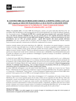 Com. Stampa MBE 266 Bergamo cresce a doppia