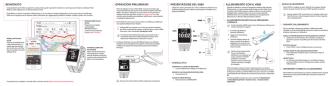 benvenuto operazioni preliminari presentazione del v800