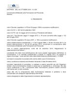 Determina n. 326 del 30 ottobre 2014 ( - 128 kb)