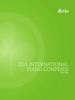 ZIJA INTERNATIONAL PIANO COMPENSI