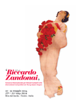 27 - 31 maggio 2014 27th - 31st may 2014