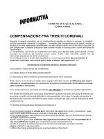 COMPENSAZIONE FRA TRIBUTI COMUNALI
