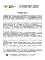 PROGETTO ACCOGLIENZA a.s. 2014/2015