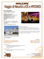 Prenota il tuo Viaggio di Maturità 2014 a Mykonos