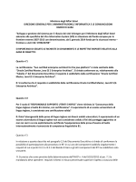 Ministero degli Affari Esteri DIREZIONE GENERALE PER L