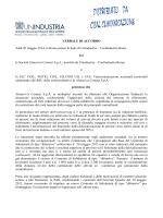 Accordo di solidariet Maggio 2014