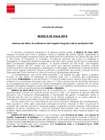 Comunicato stampa - Progetto integrato cultura del Medio Friuli