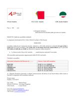 SNALS Sondrio FLC CGIL Sondrio CISL Scuola Sondrio Prot. n 592