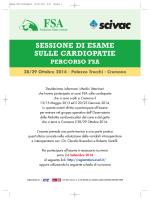 Esame FSA Cardiopatie - Fondazione Salute Animale