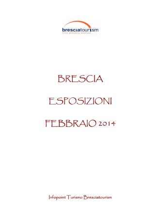 Calendario Aggiornato Esposizioni Brescia