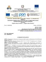 Bando 676 – 23/01/2014 (FSE) Circolare PON - C