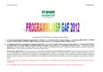 programmi Uisp Gaf GENNAIO 2014 mini open, mini 4, prima