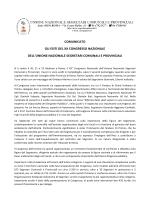 XX Congresso, grande partecipazione di iscritti e qualificate