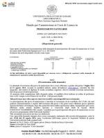 Bando Professioni Sanitarie a.a. 2014-2015 F.to
