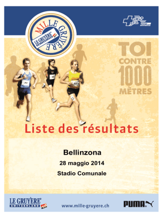Bellinzona - Mille Gruyère