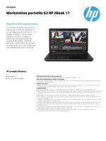 Workstation portatile G2 HP ZBook 17
