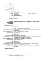 CV - Farmacap