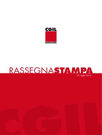 29_7_2014 - CGIL Basilicata
