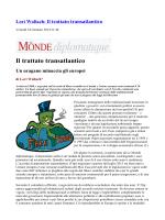 Trattato Transatlantico da Le Monde Diplomatique