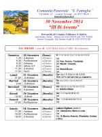 30 Novembre - Menta e Rosmarino