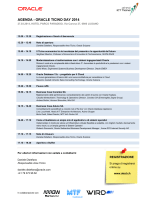 AGENDA - ORACLE TICINO DAY 2014
