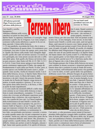 18 Maggio 2014 - Parrocchia san Desiderio