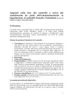 Appunti su istruttoria accessi ispezioni verifiche ecc