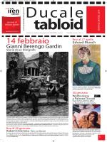 Scarica il Tabloid n.5 anno 2014 gennaio-marzo