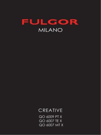 CREATIVE - Fulgor Milano