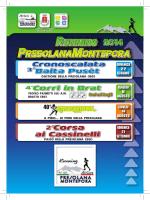 RUNNING PRESOLANAMONTEPORA