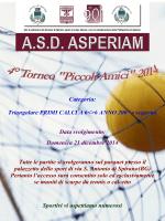 svolgimento torneo Piccoli Amici 2014