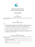 Regolamento - Ordine dei giornalisti del Piemonte