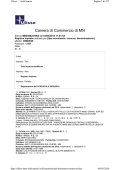 Modificazioni - Camera di Commercio di Mantova
