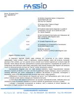 Roma, 30 giugno 2014 Prot. 389/SM/14/F PEC Al Direttore