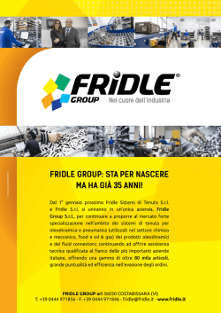 Fridle Group: sta per nascere ma ha Già 35 anni!