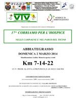 Manifestazione omologata FIASP-IVV dal Comitato