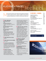 KUEHNE + NAGEL - Logistica Management