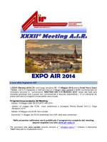XXXII° Meeting AIR EXPO AIR 2014
