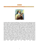 1 ottobre Santa Teresa di Gesù Bambino (di Lisieux) Vergine e
