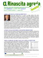 libera, riunito il consiglio direttivo censis: italian sounding vale 60
