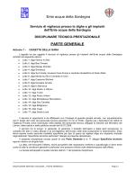 Disciplinare Tecnico Prestazionale parte generale [file]