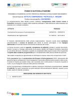 piano di autovalutazione - Istituto Comprensivo Minervino Murge