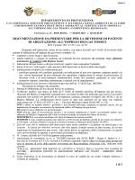Informativa per la revisione della patente di
