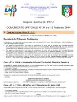 COM. UFF. 34 - FIGC Veneto
