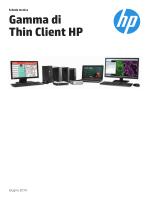 Gamma di Thin Client HP