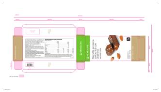Barretta proteica arricchita con vitamine Alto contenuto in
