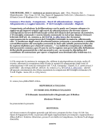 Sentenza Tar Molise n. 210 del 31/03/2014