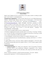 1 Bando - Comune di Finale Emilia