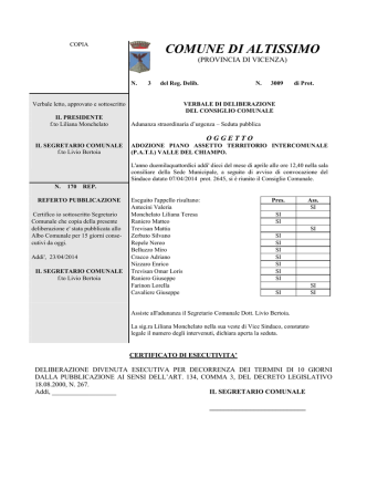c.c. 3 del 10.04.2014 adozione P.A.T.I.